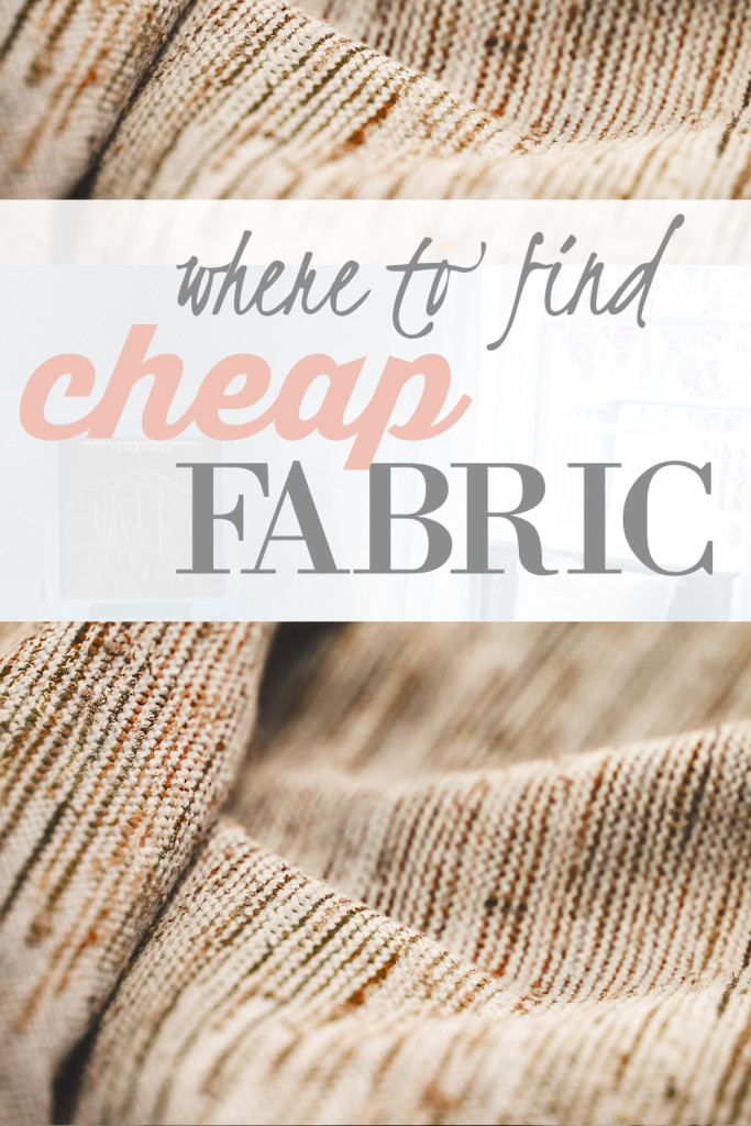 where to find fabric bargains