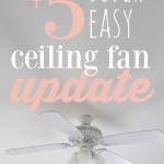 $5 ceiling fan update