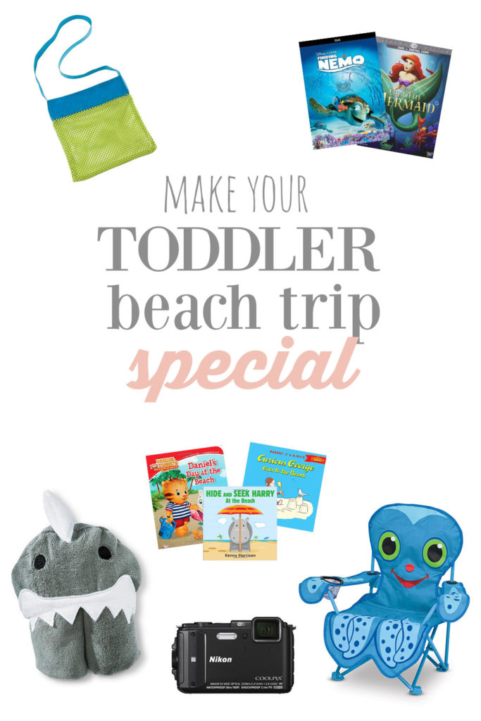 beach with toddlers must haves