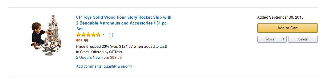 Save Money with Amazon Wish List