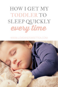Get your toddler to sleep quick every time