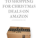 The trick to shopping for Christmas deals on Amazon
