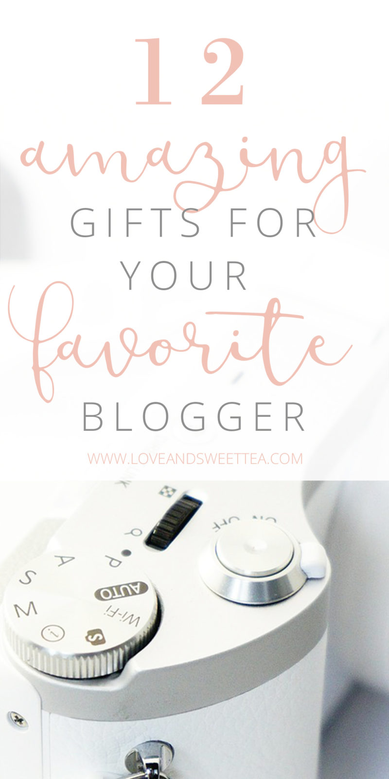 What's on your gift wish list this year as a work at home mom? When it comes to gifts for bloggers, sometimes our friends and family aren't really wanting to dish out to pay for our email service subscription or latest ecourses on our wishlist. Because, where's the fun in that? So, here are some of my favorite gifts for bloggers that are on my wishlist this year.