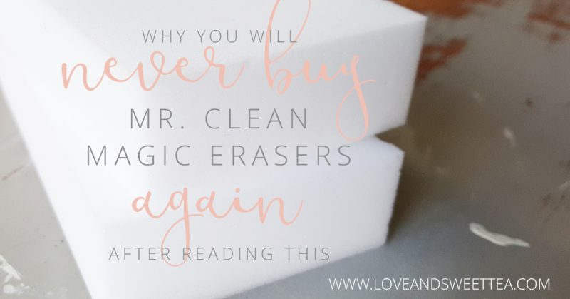 ou love Mr. Clean Magic Erasers. They're amazing for cleaning everything around the house. You never know what a Magic Eraser can clean next, amiright? Plus, they're chemical free, which means they're safe even for a home full of kids and pets. And here is why you will never buy Magic Erasers again.