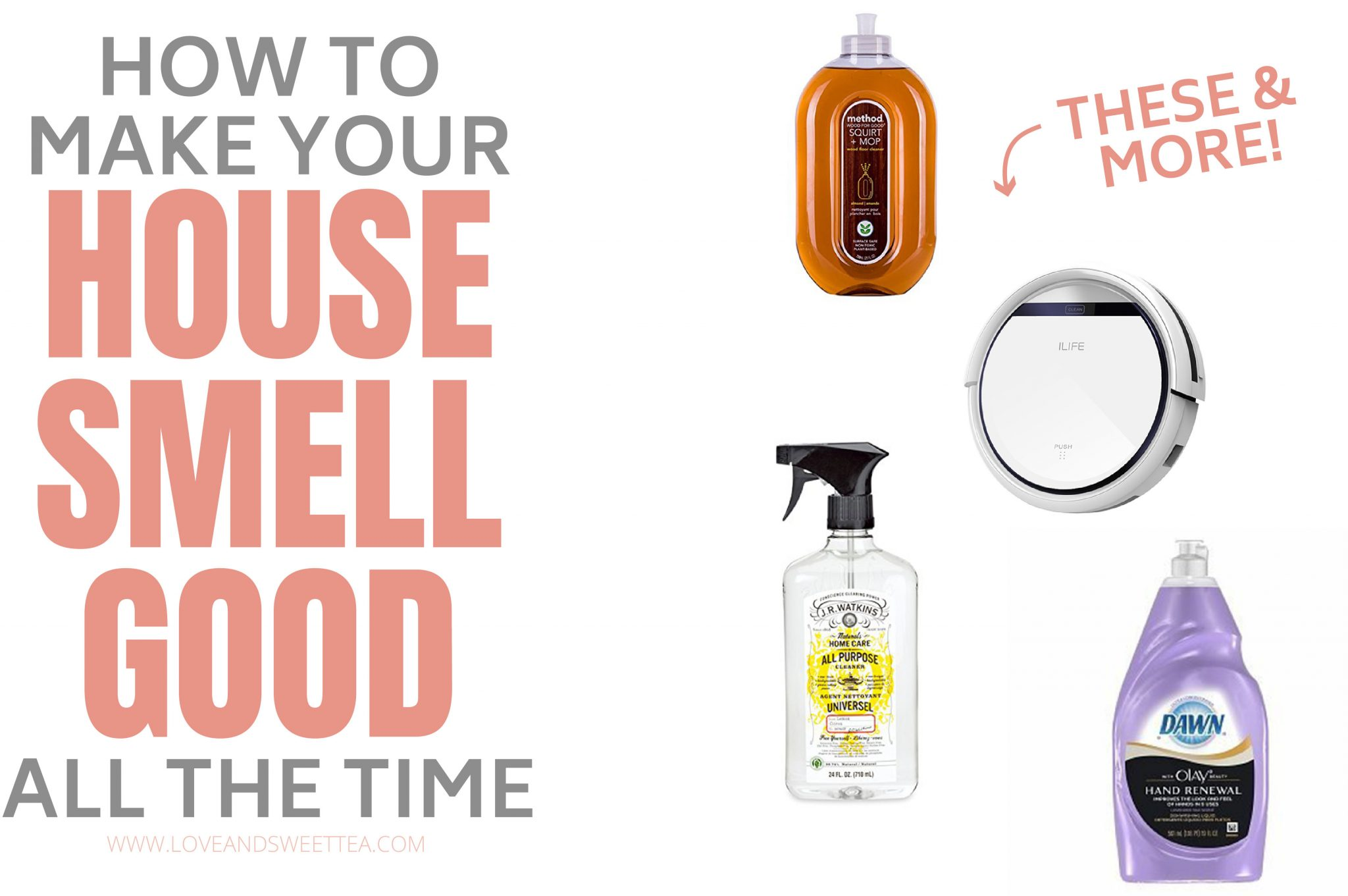 how to make your house smell good all the time naturally