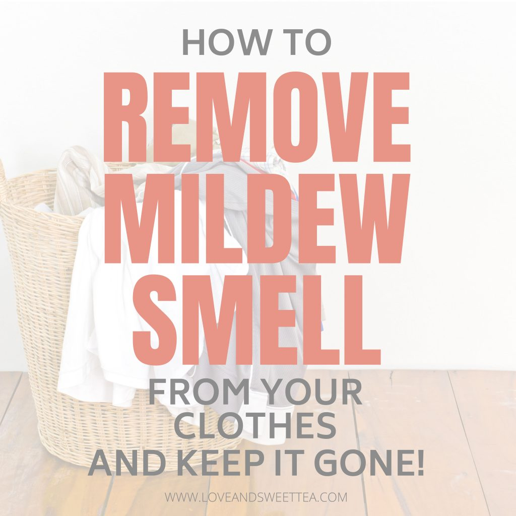 Finally! I got the mildew smell out of my clothes using this girl's trick! And it hasn't come back yet! I even got the mildew smell out of my washing machine for good, too! It was so easy!