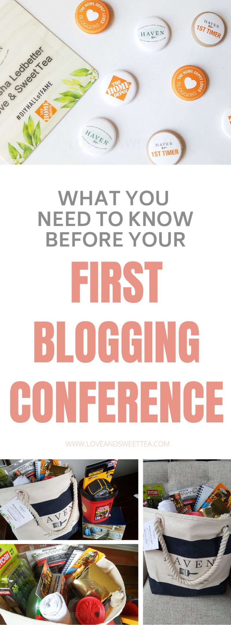 These are great blogging conference tips for your first blogging conference. Like what to wear and what to put on your business cards. Click through to read what you don't know you don't know!