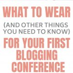 These are great blogging conference tips. Like what to wear and what to put on your business cards. Click through to read what you don't know you don't know!