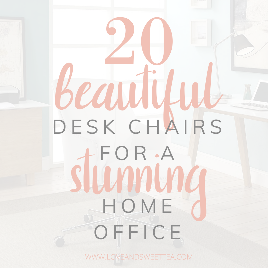 Image of: 20 Cheap Comfy Desk Chair Ideas For Beautiful Home Offices Or Bedrooms Love Sweet Tea