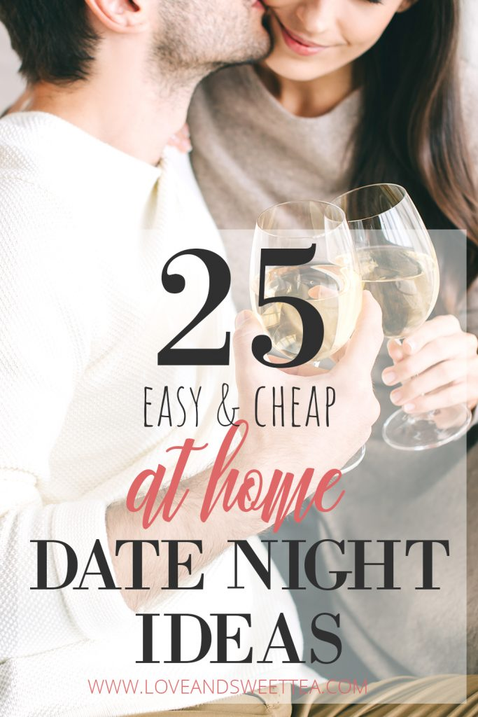 When you're busy and on a budget, finding things to do for a date night at home can be a hassle. This post is full of cheap date night at home ideas and awesome cheap Valentines dates to help you reconnect with your spouse. When you're planning a romantic night at home, you can still keep it fun, easy, and, cheap. This post is also full of cheap Valentines date night ideas!
