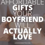 Gifts to get boyfriends - If you're looking for cute ideas for boyfriends gifts, you want to check out this list of fun gifts for boyfriend. If you need boyfriends gifts for Christmas, your aniversary, just because, Valentine's Day, or boyfriends day gifts these are the absolute sweetest gifts for him: boyfriends!! It's the only list of cute presents for boyfriends you'll need this year!