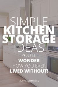 Clever Kitchen Storage Ideas For Small Kitchens Love